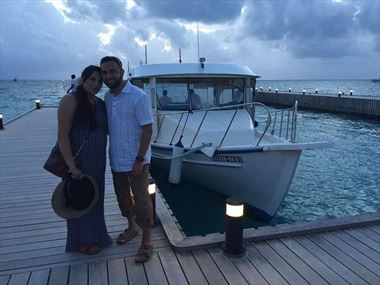 Aziza & Kobir share their Maldives holiday story