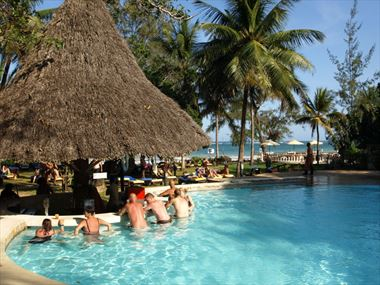 Swim up bar at Papillon Lagoon Reef