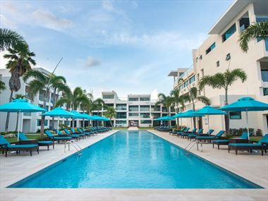 An exterior view of The Sands Barbados