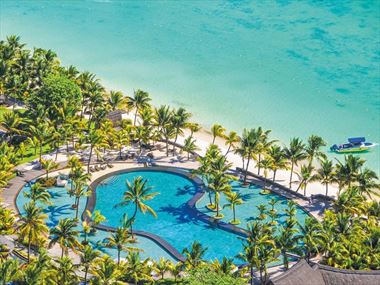 Aerial view of Trou Aux Biches Resort & Spa