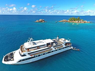 Experience an exotic cruise holiday in the Seychelles