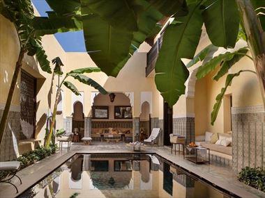 Small pool at Villa des Orangers