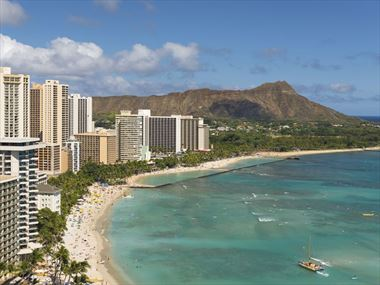Waikiki beach holidays