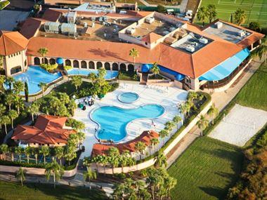 Aerial view, Westgate Lakes Resort