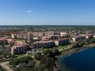 Aerial view, Westgate Town Center Resort & Spa