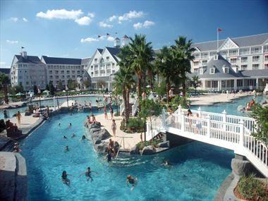 Pool at Disney's Yacht Club Resort - A Disney Deluxe Resort
