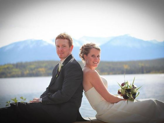 Jasper wedding couple