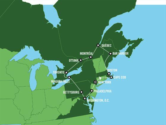 Self Drive America Amp Canada Historic Highways