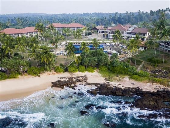 Aerial voew of the Anantara Tangalle Peace Haven