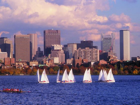 Boats on the Charles, Boston