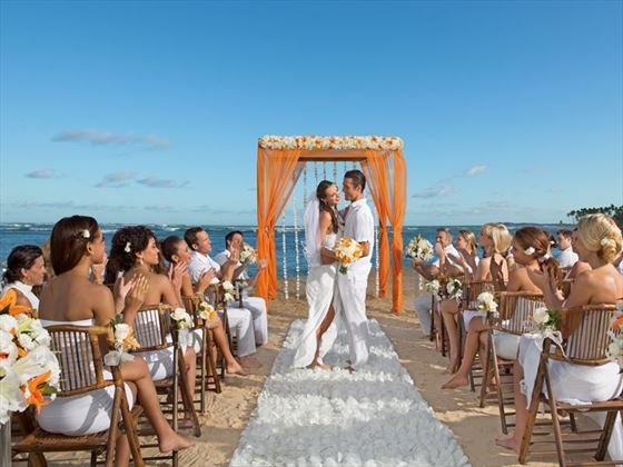 Wedding party with family & friends, Breathless Punta Cana Resort & Spa