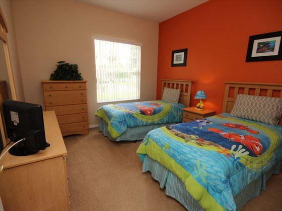 4 Calabay Parc twin kids room