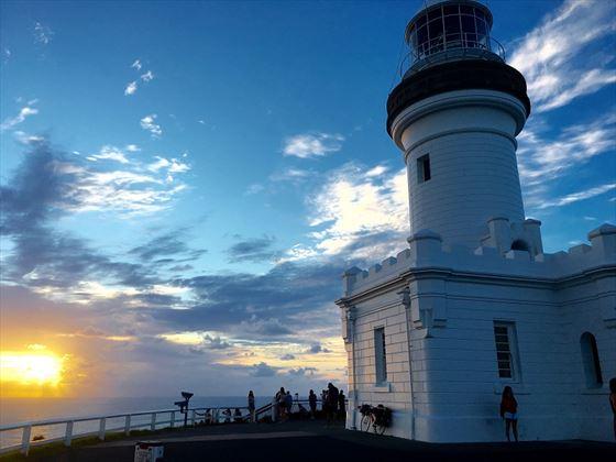 Cape Byron Lighthouse at sunrise