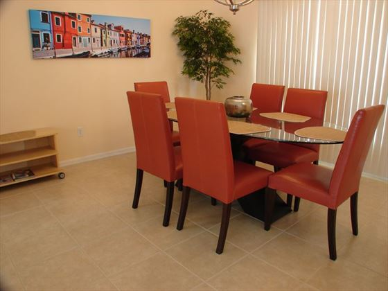 Example of a Cape Coral Area Home - Dinin Area