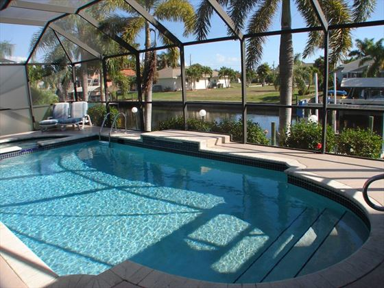 Example of a Cape Coral Area Home - Private Pool