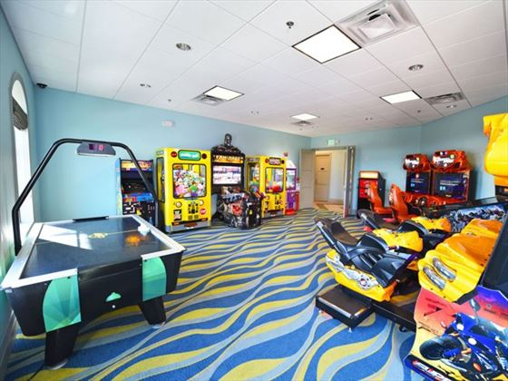 ChampionsGate Resort comumunal games room