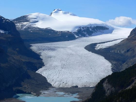 Saskatchewan Glacier, Columbia Icefield