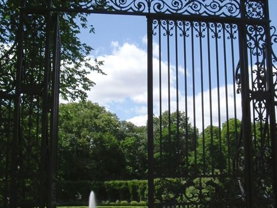 Entrance to  Conservatory Garden