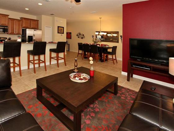 Example of a Disney Area Platinum Townhome Living space