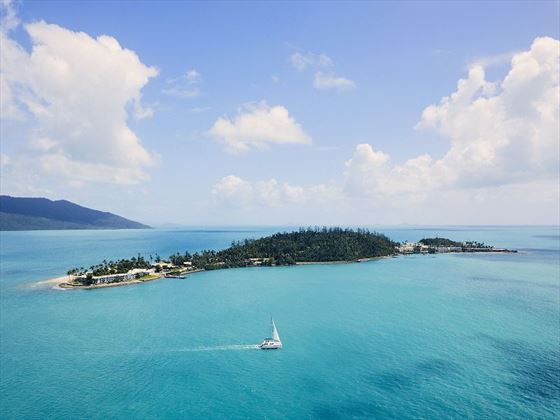 Aerial View of Daydream Island Resort & Spa
