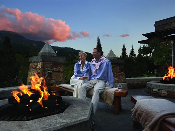 Fireside terrace