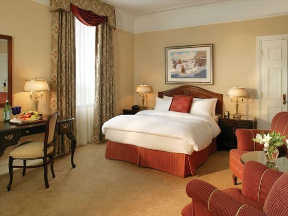Fairmont guestroom