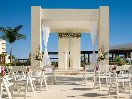 Secrets Silversands wedding gazebo