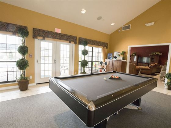 High Grove Homes  Club House Games Room