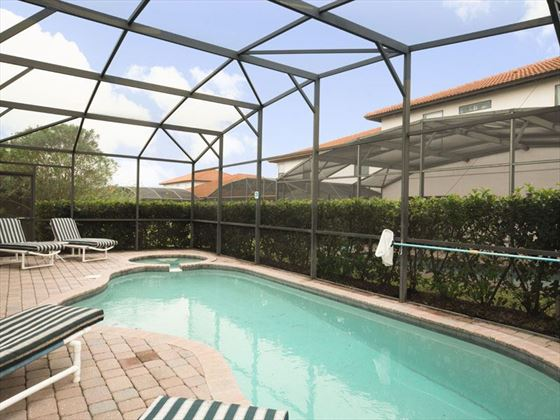 Example of High Grove Homes  - Private Pool