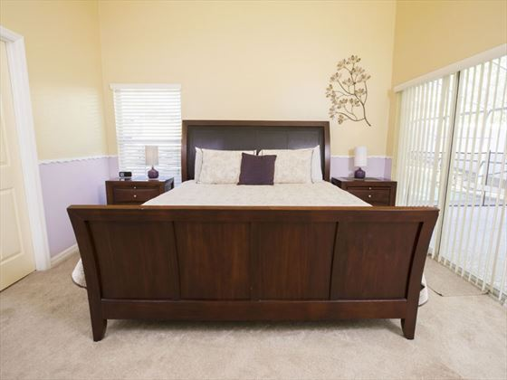Example of Highlands Reserve Home - King Bedroom