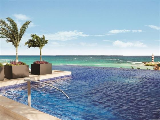 Rooftop Pool at Hyatt Ziva Cancun