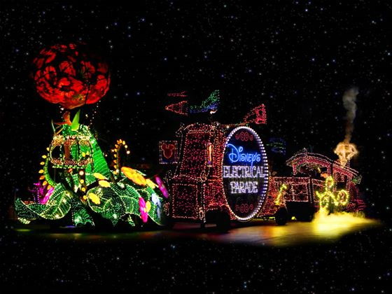 Disney Electrical Parade, Magic Kingdom, Walt Disney World, Orlando