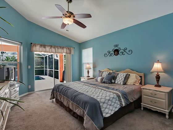 Example of a Marco Island Area Home - King Bedroom