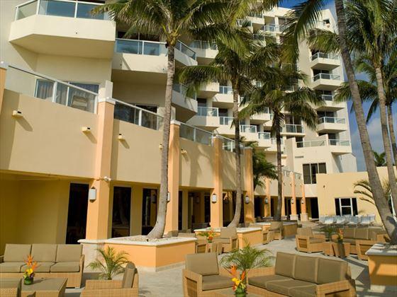 Exterior balconies