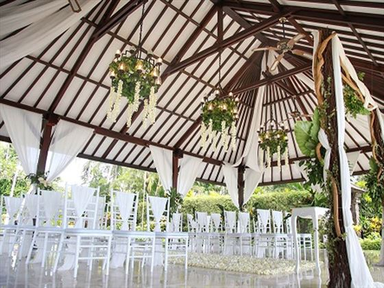 Wedding Bale for under the roof option