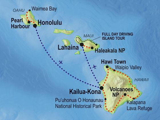 Hawaii Islands Adventure Small Group Tour American Sky