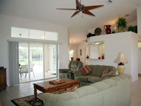 Example of a Port Charlotte Area Home - Living Area