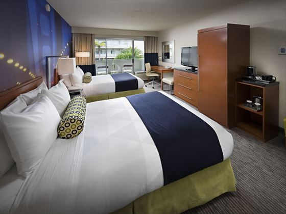 Hotel Zephyr Double Guest Room with courtyard view