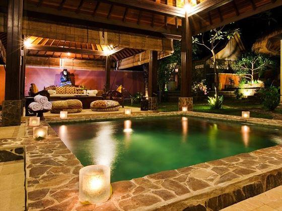 Revitalising Pool at the Spa Resort