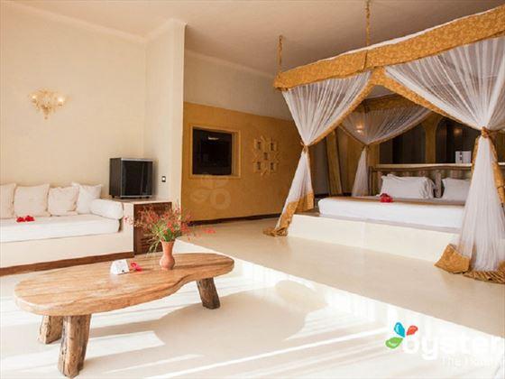 Room at Gold Zanzibar Beach House & Spa