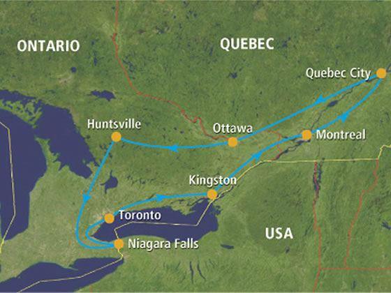 Self Drive Heritage Trail Toronto Ontario Canadian Sky