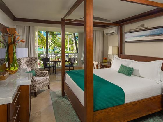 Carribbean Deluxe Room at Sandals Barbados