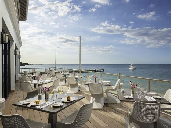 Orleander's restaurant at Sandals Montego Bay
