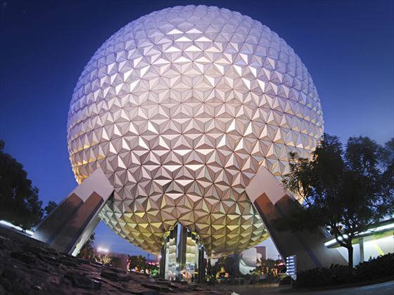 Spaceship Earth, Epcot, Walt Disney World, Orlando