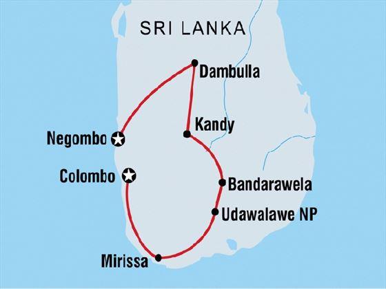 Sri Lanka Family Holiday 14-day tour