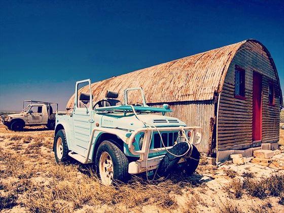 Abandoned jeep, Ningaloo Station, Western Australia