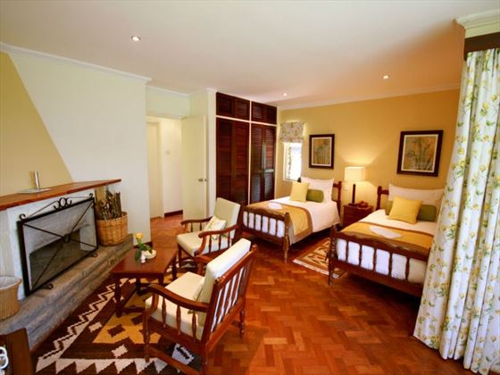 Aberdare Country Club cottage twin room