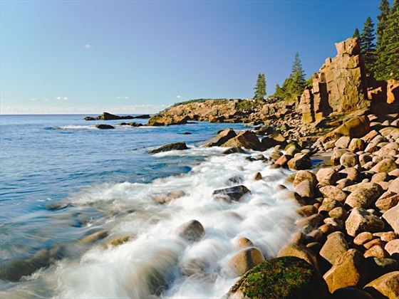 Rocky Atlantic coast of Acadia National Park