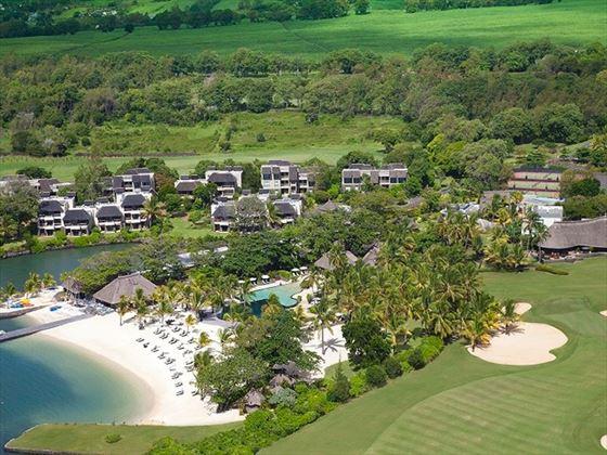 Aerial view of Anahita, Mauritius