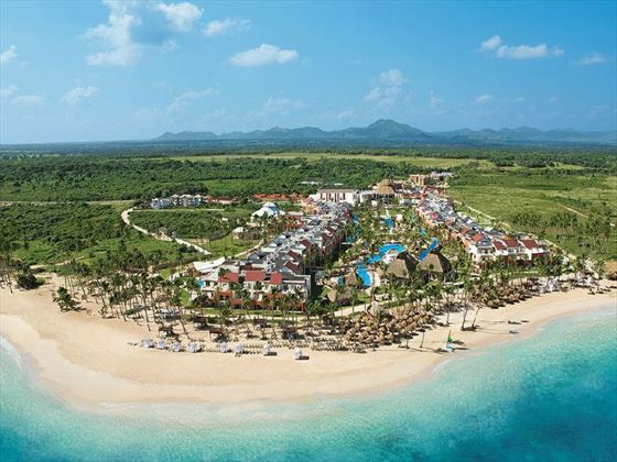 Aerial view of Breathless Punta Cana